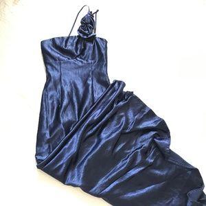 Jessica McClintock Deep Blue Formal Dress 4
